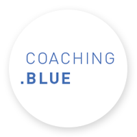 logo coaching blue